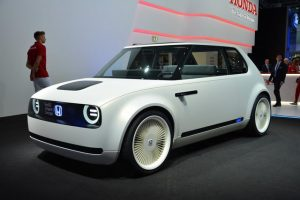 The Honda Urban Ev Concept Looks Like An Homage To First Generation Civic From 1970s But It S Actually A Preview Of New Electric Car Plans