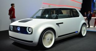 HONDA URBAN EV CONCEPT IS A RETRO-LOOKING ELECTRIC CAR BUILT FOR THE CITY